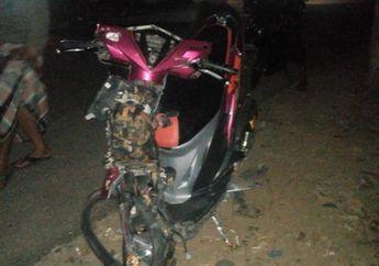 Ngeri! Ambil Lajur Terlalu Pinggir, Yamaha R15 Adu Banteng Lawan Honda Vario, Pemotor Tutup Usia