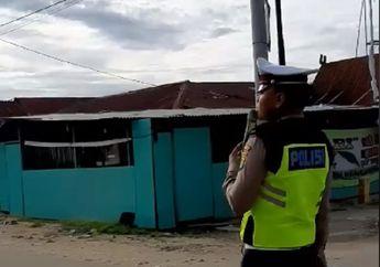 Video Anggota Polisi Punya Cara Unik Menggalang Dana, Peduli Korban Bencana Alam Sulawesi