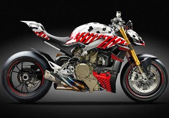Prototipe Ducati Streetfighter V4, Motor Naked Bike Tercepat Keluaran Ducati