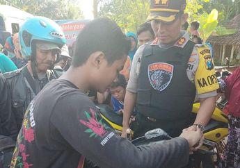 Pemuda Menangis Lihat Motornya Hilang di Parkiran, Lapor Tim Cobra Malah Bikin Malu