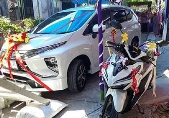 Demak Geger, Honda Vario dan Mitsubishi Xpander Dijadikan Mas Kawin, Sultan Mah Bebas