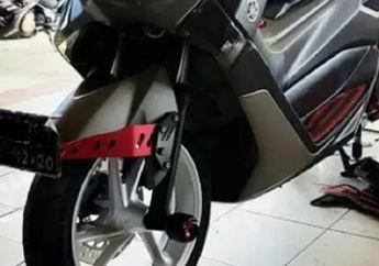Heboh Kasus Dudukan Pelat Nomor Yamaha NMAX, Ternyata Harganya Lumayan, Tergantung Bahan
