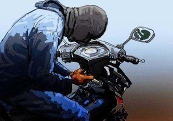 Gokil, Tiga Orang Anak SD Nekat Mencuri Motor Yang Lupa Dicabut Kuncinya