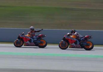 Terlibat Insiden di FP3 MotoGP Catalunya, Marc Marquez Desak Jorge Lorenzo Dikasih Penalti