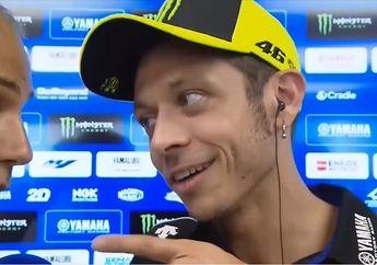 Waduh, Video Valentino Rossi Marahi Media Italia Terkait Insiden di MotoGP Catalunya 2019