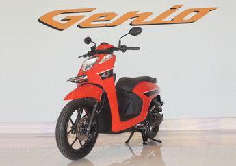 Murah Harga Motor Honda Genio 110 CC, Gunakan Sasis Baru dan Pertama Dipakai di Indonesia