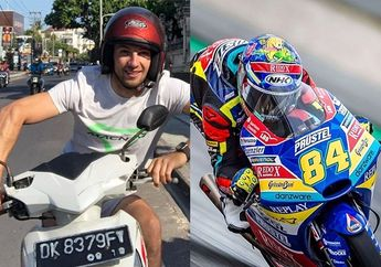 Habis Liburan Dari Indonesia, Pembalap Ini Kencang di FP2 Moto3 Belanda 2019