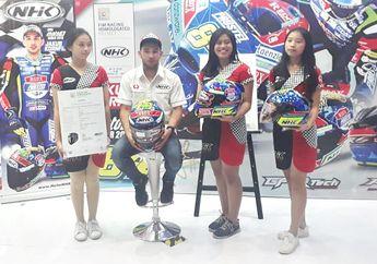 Mulai Rp 400 Ribu, Helm NHK Pembalap Dunia Jakub Kornfeil Resmi Dijual