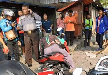 Memilukan, Driver Ojol Menghembuskan Napas Terakhir di Atas Honda Vario, Saksi Bilang Kelelahan