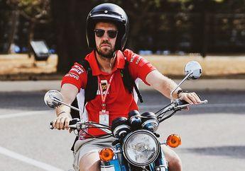 Gak Nyangka! Ternyata Pembalap F1 Sebastian Vettel Doyan Motor 2-Tak, Koleksinya Ngeri