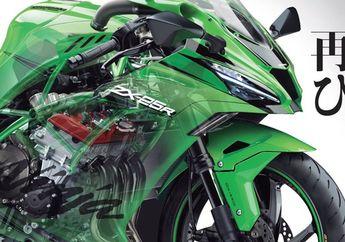 Mirip Superbike, Ini Renderan Terbaru ZX-25R Alias Kawasaki Ninja 250R 4 Silinder
