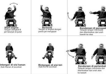 Street Manners: Rawan Tabrakan, Kenali 10 Bahasa Isyarat Saat Turing Motor, Bikers Wajib Paham
