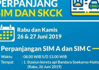 Di Terminal 3 kedatangan Internasional Bandara Soekarno-Hatta Ada Pelayanan SIM Keliling, Hanya Besok Bro!