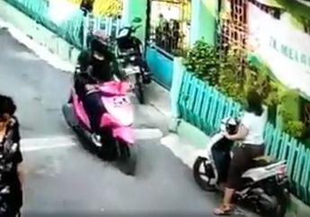 Video Viral, Seorang Pemotor Wanita Kena Begal Payudara, Ternyata Pelaku Mengincar Ini