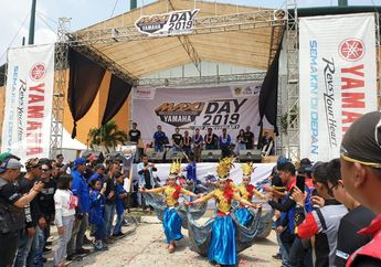 Wuih, Ada Apa Nih Palembang Mau Diserbu Pasukan Maxi Series Yamaha?