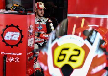 Dimas Ekky Crash di FP1 Moto2 Belanda 2019, Stefano Manzi Murid Valentino Rossi Start Dari Belakang