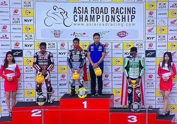 Mantap! Hasil Race 2 UB150 ARRC Jepang, Bendera Merah Putih kembali Berkibar di Suzuka
