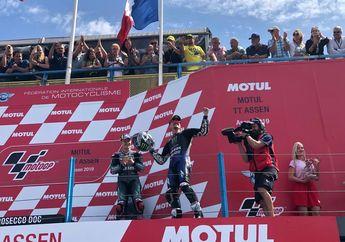 Gak Pernah Kendor, Ini 4 Faktor Bikin Maverick Vinales Menang MotoGP Belanda 2019