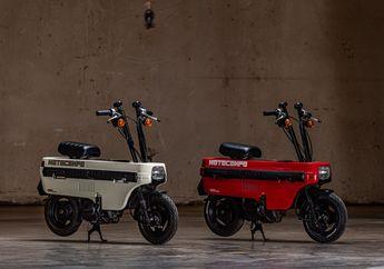 Motor Selundupan Honda Motocompo Bisa Dilipat dan Muat di Bagasi Mobil, Ternyata Begini Cara Melipatnya