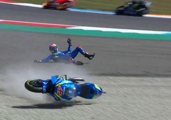 Tersungkur Keras dan Gagal Menang di MotoGP Belanda, Alex Rins Komentar Begini