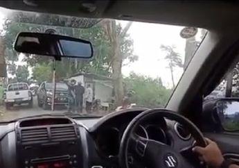 Bandung Geger, Koboi Jalanan yang Acungkan Pistol Ternyata Oknum Polisi, Begini Penjelasan Kanitlantas
