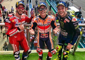 Langsung 3 Sekaligus, Marc Marquez Bisa Samai Rekor Valentino Rossi di MotoGP Jerman 2019
