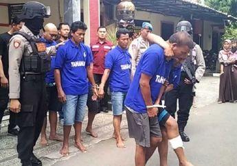 Gak Ada Ampun, Polisi Sikat Habis Begal Motor dan Penadah, Satu Pelaku Ditembak