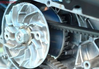 Sepele Tapi Sering Diabaikan Pemotor, Simak Ini Ciri-ciri Vanbelt Motor Matic Akan Putus