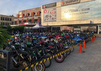 Doorprize 1 Unit Suzuki NEX II Suzuki Saturday Night Ride Pekanbaru