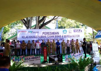 Yamaha Resmikan Kelas Khusus Yamaha di Sulawesi Selatan, SMK Binaan Yamaha Makin Bertambah