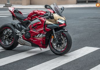 Pasang Decal, Ducati Panigale V4 Dibikin Mirip Yamaha NMAX Ironmax