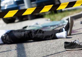 Jalan Daan Mogot Mendadak Macet, Gara-gara Jalanan Yang Licin Saat Hujan, Seorang Anggota Polisi Tewas Kecelakaan