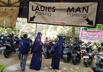 Keren Nih, Parkir Motor Khusus Wanita Sudah Ada Di Lokasi Ini Bro