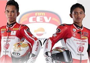 Kabar Pembalap Indonesia Jelang Balap FIM CEV 2019 Seri MotorLand Aragon Circuit