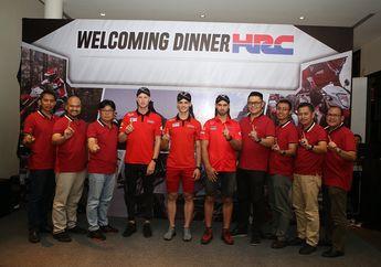 Seru Banget, Diajak Makan Malam Bersama Tim HRC MXGP Pemimpin Klasemen