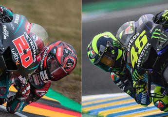 Pertarungan Sengit Antara Valentino Rossi DenganFabio Quartararo, Duel Pembalap Tertua Versus Termuda di MotoGP 2019