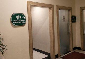 Driver Ojol Boleh Lega, Pemisah Toilet Yang Bikin Tersinggung Sudah Dicopot Pihak Mall