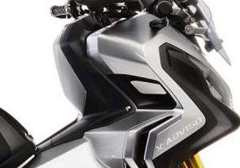 Sudah Beredar Luas Tampang Honda X-ADV 150, Sokbreker Depan Upside Down Warna Emas