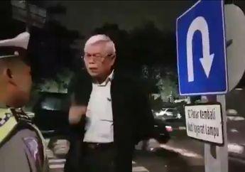 Video Polantas Main Tilang Dimarahi Profesor Hukum, Hanya Senyum Bisu dan Malu Tidak Berani Nilang Lagi