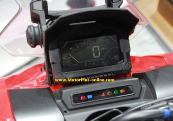 Layar Full Digital dan Negative Display, Apa Saja Isi Speedometer Motor Matic Adventure Honda ADV 150?