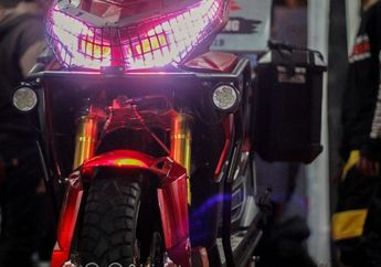 Gak Kalah Keren!  Honda Vario Dirombak Jadi Motor Matic Adventure Mirip ADV 150