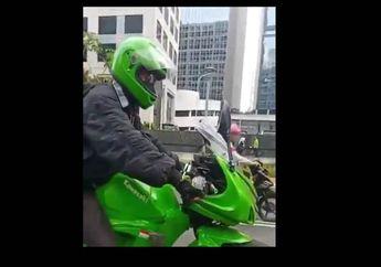 Ini Kawasaki Ninja Paling Irit Sedunia Gak Perlu Bensin dan Tanpa Charge Listrik Buatan Indonesia