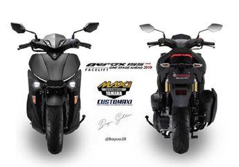 Yamaha Aerox Facelift Siap Menghadang Skutik Adventure Honda ADV 150?