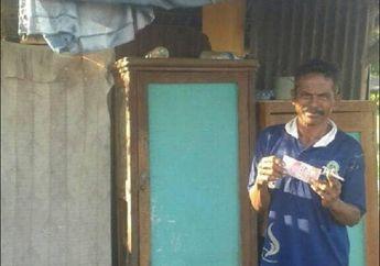 Sedih, Tatapan Kosong Bapak Tua Penambal Ban di Situbondo, Bermula dari Uang Rp 100 Ribu