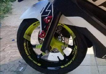 Tampilan Yamaha NMAX Makin Ganteng, Cat Pelek Motif atau Polos Proses Cepat Harga Pas di Kantong