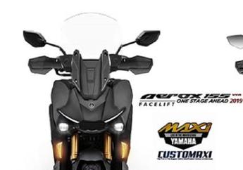 Geger Kehadiran Skutik Adventure Honda ADV 150, Yamaha Aerox Facelift Adventure Siap Menghadang
