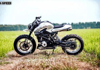 BMW G310 Naked Bike Dibikin Street Tracker, Simpel Tapi Sangar Bro