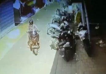 Pengendara Yamaha NMAX Jadi Buronan, Lihat Aksi Nekatnya yang Terekam Kamera CCTV