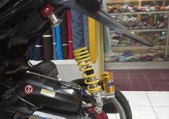 Malunya Bisa Seminggu, Sokbreker Belakang Merek 'Ohlins' Mendadak Copot, Pemilik Motor Curhat