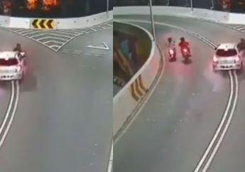 Terbongkar Identitas Supir Toyota Yaris Tersangka Tabrak Lari Overpass Manahan Solo